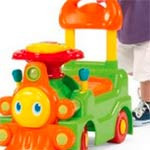 Image for Chicco Sit 'N Ride Train indoor riding toy